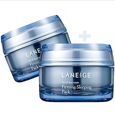 LANEIGE Firming Sleeping Pack All Skin  50ml 50ml double 2 pack set ** Click affiliate link Amazon.com on image for more details.