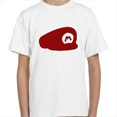 Camiseta personalizable gorra Mario Bros