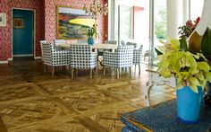FRENCH OAK VERSAILLES PARQUETRY PANELS