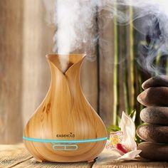 Fashion style 400ml Aroma Essential Oil Diffuser Ultrasonic Air Humidifier
