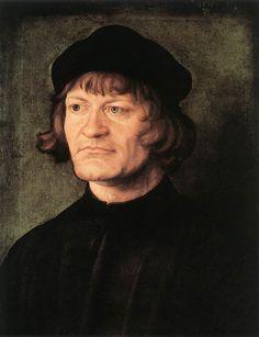 """Albrecht Dürer  """"Portrait of a Cleric"""" 1516 (National Gallery of Art, Washington DC)"""