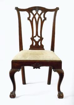 A Chippendale Carved Mahogany Side Chair, Philadelphia, 1760-1770, 38 1/4 in high