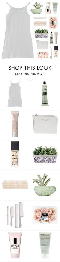 """back where we use our given names"" by kristen-gregory-sexy-sports-babe ❤ liked on Polyvore featuring American Apparel, Aesop, Laura Mercier, Acne Studios, NARS Cosmetics, Superior, Chen Chen & Kai Williams, Clinique and Korres"