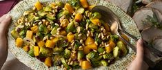 Roasted Brussels Sprouts with Cranberries Recipe | Campbell's Kitchen