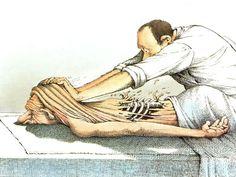 te veel werken is niet goed voor je rug, te veel therapie ook niet