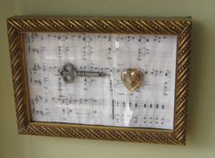 Key to your heart care of Ciraco Custom Framers.