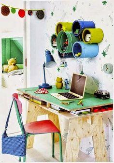 40 Iδέες-Κατασκευές για την ΟΡΓΑΝΩΣΗ του ΠΑΙΔΙΚΟΥ γραφείου | ΣΟΥΛΟΥΠΩΣΕ ΤΟ