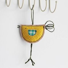 spring hanging birdy decoration by honeypips | notonthehighstreet.com