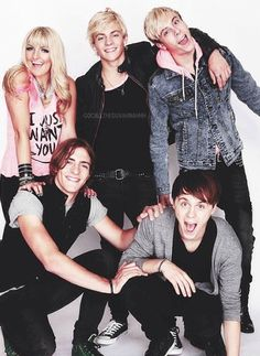 Madelyn's Favorite band is R5 so they are mine as well<3 <3 <3 They actually are really good, but I only like them because of Madelyn!