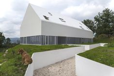 Built by AND-RÉ in Penafiel, Portugal with date 2013. Images by João Soares. Completed in 2013 and recently open to the public, White Wolf Hotel is a series of buildings intimately related with ...
