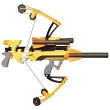 Nerf bow and arrow