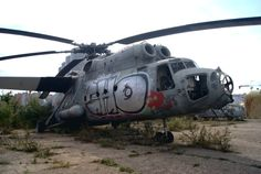 derelict aircraft | Description Abandoned aircraft museum at Khodynka airdrome (7721083396 ...