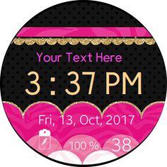 Louboutin Watch Face Samsung Gear S2 S3 | Watch Faces Watch faces voor diverse gelegenheden en alle leeftijden. De watch faces kunnen worden gepersonaliseerd. Uw Samsung Gear wordt dan exclusief of heel persoonlijk met uw naam, of de naam van uw bedrijf of sport vereniging.