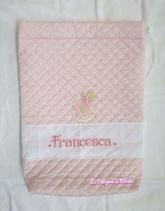 sacchetto nascita personalizzato  per Francesca; per info: http://lecreazionidimichela.it.gg/HOME.htm