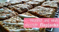 My sugar coated life...: Hazelnut and white chocolate chip flapjacks recipe