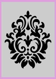 Bildresultat für Printable Wall Stencils Damask – What's on the walls. Bildresultat für Printable Wall Stencils Damask – What's on the walls. Shabby Chic Karten, Rustikalen Shabby Chic, Shabby Chic Cards, Shabby Chic Interiors, Shabby Chic Bedrooms, Shabby Chic Kitchen, Bedroom Vintage, Trendy Bedroom, Bedroom Rustic