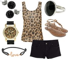 """""""Leopard Love"""" by qtpiekelso on Polyvore"""