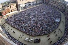 Il Palio of Siena, Siena