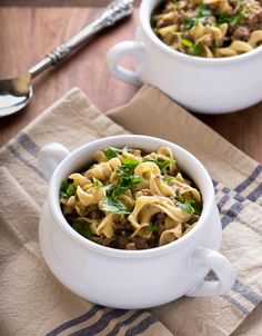 Homestyle Beef and Noodles