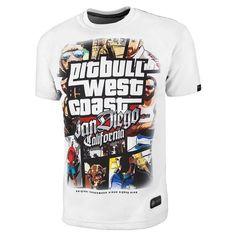 29030fda71d06d Most Wanted Pit Bull West Coast T-Shirt MMA KSW BJJ #PitBullWestCoast