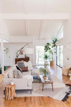 MID Century Living Room Furniture & Decor Ideas