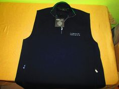 New RALPH LAUREN RLX  Golf 1/2 Zip LINED Vest Size L Large - Blue  NWT #RalphLaurenRLX
