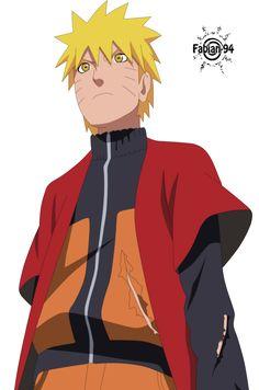 Naruto sage mode by FabianSM on deviantART