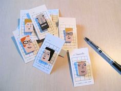 Portrait Pins. Cute for gifts or fund-raisers?