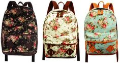 Target by Mossimo Floral Backpacks (also at ebay.com.au