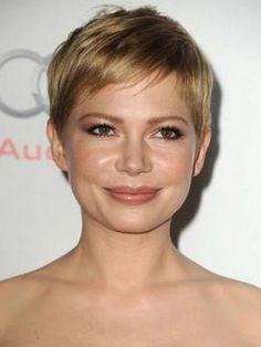 michelle williams short hair - Google Search