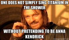 Pitch perfect<< IT CAME ON THE RADIO WHEN I WAS IN THE SHOWER LIKE AN HOUR AGO..