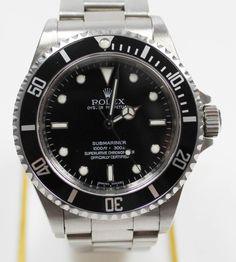 Rolex Submariner Referenz 14060M Armbanduhr stahl schwarzes Zifferblatt  https://www.ipfand.de/rolex-submariner  #Rolex #Submariner #iPfand #Pfandleiher
