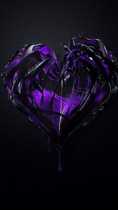 Heart Purple Plexus