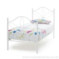 Daisy children's metal bed frame from mybedframes.co.uk