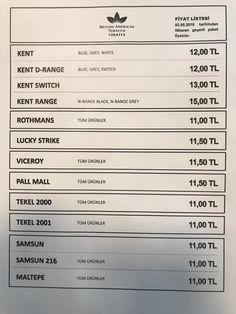 tütün fiyat Listesi ile ilgili görsel sonucu
