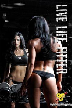 Live life fitter - Amanda Latona.