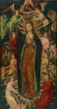 La Asunción y Coronación de la Virgen ( 1497 ), Diego De La Cruz - Colección - Museo Nacional del Prado