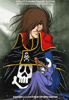 From Jesus to Paul. The beginnings of Christianity Miime, the companion of Albator More From Jesus t Old Anime, Manga Anime, Anime Art, Robot Cartoon, Cartoon Art, Space Pirate Captain Harlock, Comic Art, Comic Books, Retro