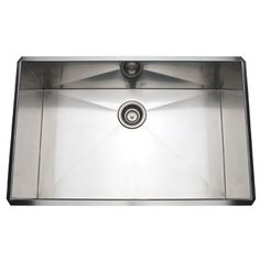 Rohl Single Bowl Stainless Steel Kitchen Sink RSS3018
