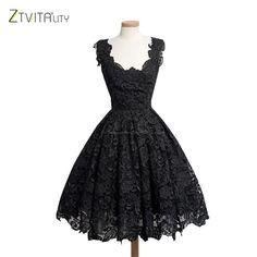 Best Selling Vestidos 2016 Elegant Lace Patchwork Solid Sleeveless A-Line Fashion Dress Sexy Slim Party Dresses Vestido De Festa