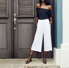 Chic and Silk: GET INSPIRED: Culottes! 40 Best Summer Outfits
