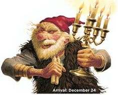 Iceland Christmas Troll Arrives Candle Stealer - steals Children's candles and eats them. Troll, Small Gifts, Gifts For Kids, Baumgarten, Days Before Christmas, Christmas Eve, Christmas Decor, Thinking Day, Norse Mythology