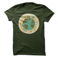 (Tshirt Design) Earth Day Around the World [TShirt 2016] Hoodies, Funny Tee Shirts