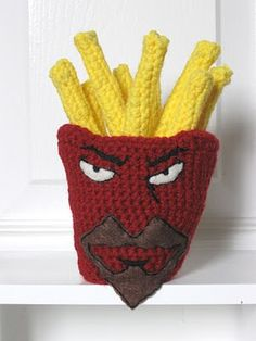 Frylock Crochet Pattern