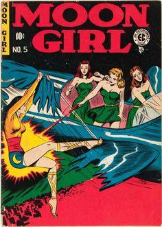 Moon Girl #5, 1948