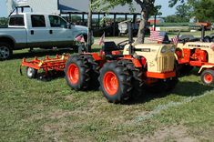 Cool tractor