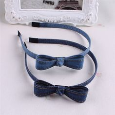 Hot Sale New Fashion Korean Jean Bowknot Hairbands Handmade Blue Denim Leisure Headbands Girls Women Barrette Hair Accessories♦️ SMS - F A S H I O N 💢👉🏿 http://www.sms.hr/products/hot-sale-new-fashion-korean-jean-bowknot-hairbands-handmade-blue-denim-leisure-headbands-girls-women-barrette-hair-accessories/ US $1.84