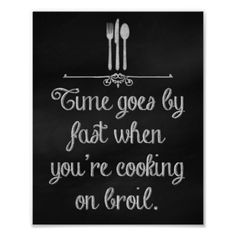 Kitchen chalkboard art truism.