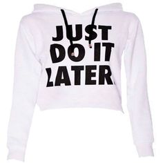 Do It Crop Sweatshirt in White (20 CAD) ❤ liked on Polyvore featuring tops, hoodies, sweatshirts, shirts, sweaters, white sweatshirt, henley sweatshirt, white sweat shirt, white crop top and sweat tops