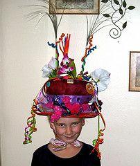 Won a crazy hat contest.